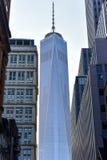Один всемирный торговый центр - Нью-Йорк Стоковое Изображение RF