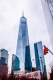 Один всемирный торговый центр, Нью-Йорк Стоковые Фотографии RF