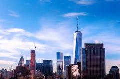 Один всемирный торговый центр, Нью-Йорк Стоковые Изображения