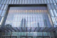 Один всемирный торговый центр - самый высокорослый buidling в новом Йорке МАНХАТТАНЕ - НЬЮ-ЙОРКЕ - 1-ое апреля 2017 Стоковое фото RF