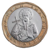 Один лев болгарина монетки Стоковые Фото