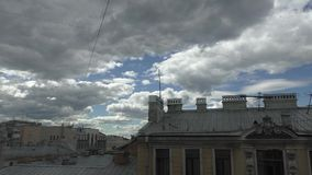 Один день в Санкт-Петербурге сток-видео