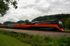 Один из последних локомотивов пара стоковое изображение rf