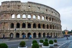 Один из самых важных ориентир ориентиров в Риме - di Roma Colosseum - Colisseo стоковое изображение