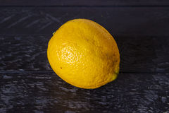 Один лимон Стоковые Фото
