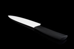 Один керамический нож Стоковые Изображения