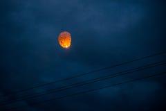 Один китайский фонарик Стоковые Фото