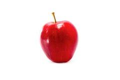 Один красный цвет яблока Стоковые Изображения RF