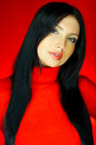 один красный цвет Стоковое Изображение