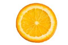 Один кусок апельсина Стоковые Изображения