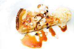 Один кусок десерта расстегая Стоковое Фото