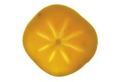 Один кусок плодоовощ kaki Стоковые Фотографии RF