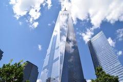 Один мир Tradecenter Стоковое фото RF