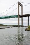 Один мост в Гётеборге над рекой Стоковая Фотография