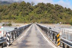 Один мост Frantz Josef пути стоковые изображения