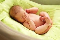 Один младенец недели старый newborn Стоковое фото RF