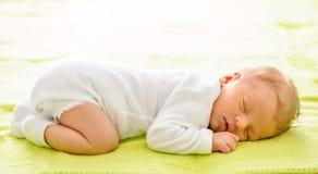 Один младенец недели старый newborn Стоковое Изображение