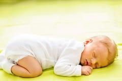 Один младенец недели старый newborn Стоковая Фотография RF