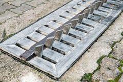 Один прибор затвора дороги пути с стальными зубами, Стоковое Изображение RF