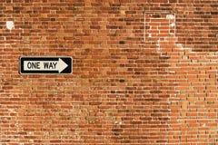 Один путь Стоковая Фотография RF