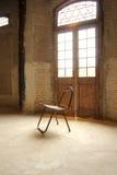 Один стул стоковое изображение rf