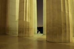 Один человек на ноче в дворце Стоковая Фотография