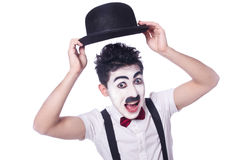 Олицетворение Чарли Чаплина Стоковое фото RF