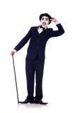 Олицетворение Чарли Чаплина Стоковое Изображение RF