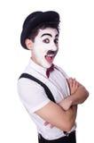 Олицетворение Чарли Чаплина Стоковые Изображения RF