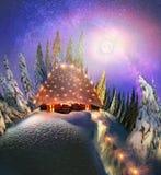 Одичалая высокогорная гора Стоковое фото RF