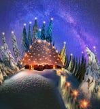 Одичалая высокогорная гора Стоковые Изображения