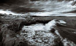 Одичалое море Стоковое фото RF