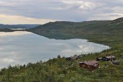Одичалый ландшафт в Норвегии, Европе, в лете Стоковая Фотография