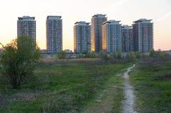 Одичалый и городской Стоковое Изображение