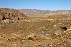 Одичалый похожий на пустын ландшафт в Richtersveld Стоковое фото RF