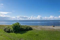 Одичалый пляж в Landskrona 1 Стоковое Изображение