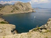 Одичалый пляж. Крым, новый свет Стоковое Фото