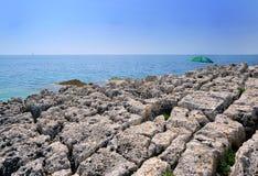 Одичалый пляж Стоковая Фотография