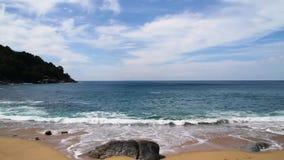 Одичалый пляж сток-видео