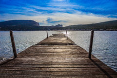 Одна больше пристани Стоковая Фотография RF
