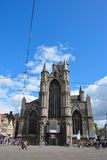 Одна из много исторических церков в Генте Стоковая Фотография