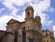 Одна из 900 церков в Риме Италии Стоковые Фото