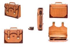 Одна кожа портфеля Стоковые Фотографии RF