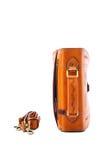 Одна кожа портфеля Стоковое фото RF
