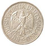 Одна монетка немецкой метки Стоковое Фото