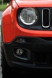 Одна новая лицевая часть автомобиля Стоковые Изображения