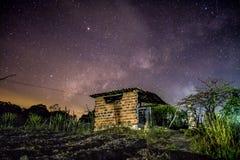 Одна ноча в простоте Стоковые Изображения RF