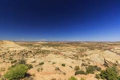 Одна дорога Миллион-доллара от Больдэра к Escalante, США Стоковые Фото