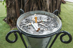 Одна сигарета Стоковые Фото