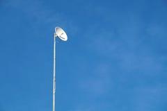 Однонаправленная антенна для высокоскоростных данных на рангоуте Стоковые Фотографии RF
